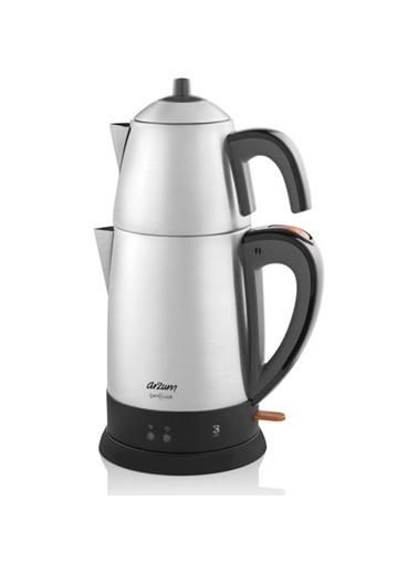 Arzum Çayci Lux Çay Makinesi Gümüş
